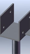 Beam support brackets